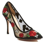 Charlotte Olympia Women's Monroe Embroidered Pump