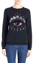 Kenzo Women's 'Nagai Eye' Embroidered Sweatshirt