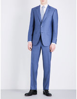 Canali Solid Wool Suit