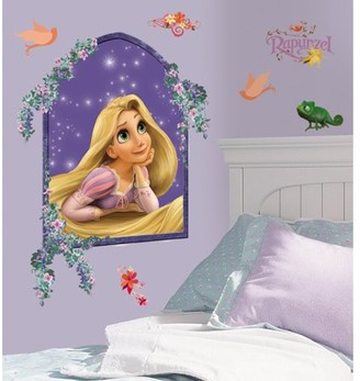 Room Mates RoomMates Rapunzel Peel & Stick Giant Wall Decal