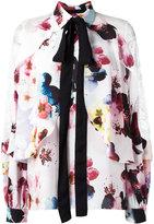 Elie Saab floral print shirt - women - Silk/Nylon/Polyamide/Polyester - 36