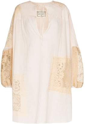 By Walid Abigail 19th century smock tunic
