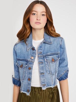 Alice + Olivia Kendall Cropped Boxy Jacket