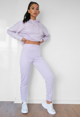Missguided Lilac Msgd Slim Fit Joggers