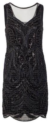 Dorothy Perkins Womens Izabel London Black Bodycon Dress, Black