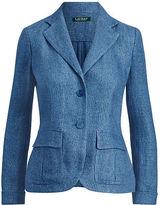 Ralph Lauren Linen 2-Button Blazer