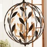 Crystorama 4 - Light Single Globe Pendant