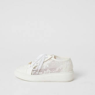 River Island White Girls' Shoes on Sale