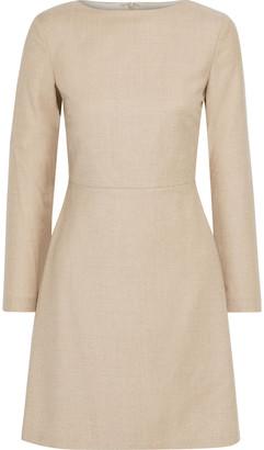 Theory Kamillina Wool-flannel Mini Dress