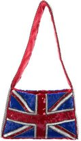 Dolce & Gabbana Embellished Union Jack Shoulder Bag