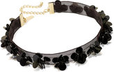 INC International Concepts Gold-Tone Flower and Bead Choker Necklace, Created for Macy's