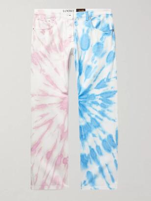 Loewe + Paula's Ibiza Tie-Dyed Denim Jeans