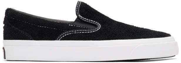 Converse Black Suede One Star CC Slip-On Sneaker