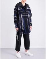 Sacai Mexican Stripes Cotton-blend Parka Jacket