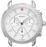 Michele Women's Sidney Chrono Diamond Diamond Dial Watch Case, 38Mm