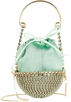 Rosantica Baby Ghizlan Crystal Mini Bag
