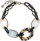 Armani Collezioni circle pendant necklace