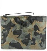 Giuseppe Zanotti Design Marcel camouflage pouch