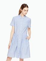 Kate Spade Stripe poplin swing shirtdress