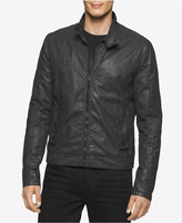 Calvin Klein Jeans Men's Track Biker Jacket