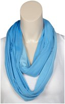 Erge Ombre Jersey Infinity Scarf - Navy-One Size