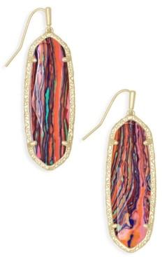 Kendra Scott 14k Gold-Plated Stone Drop Earrings