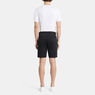 Theory Zaine Short in Washed Stretch Cotton