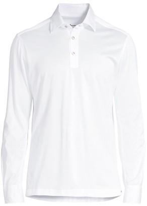 Kiton Long-Sleeve Polo Shirt