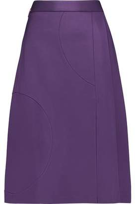 MSGM Pleated Ponte Skirt
