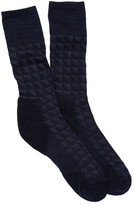 Smartwool Houndstooth Crew Socks - Medium