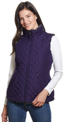 Women's Weathercast Quilted Reversible Vest