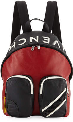 Givenchy Men's MC3 Colorblock Leather Backpack