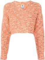 M Missoni cropped chunky knit jumper
