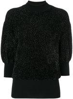 By Malene Birger short-sleeved glitter jumper