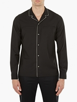 Valentino Black Pyjama-style Shirt