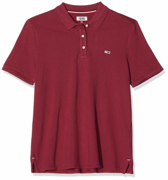 Tommy Jeans Women's Tjw Tommy Classics GMD Polo Shirt