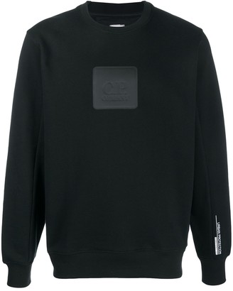 C.P. Company Debossed Logo-Patch Jumper