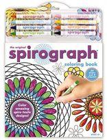 Spirograph Coloring Book & Pencils