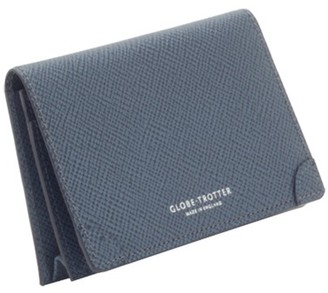 Globe-trotter Card holder Navy
