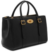 Mulberry Bayswater Double Zip Leather Satchel - Black