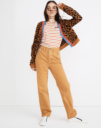 Madewell x Kule Relaxed Dadjean: Garment-Dyed Edition