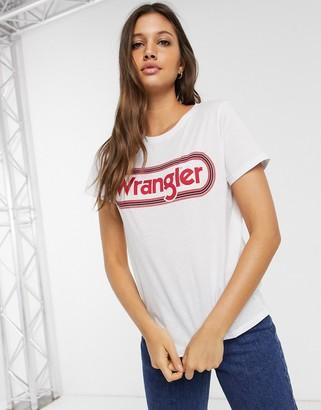 Wrangler classic circle logo t-shirt