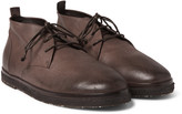 Marsell - Full-grain Leather Desert Boots