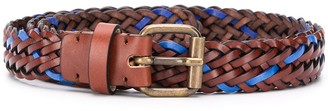 Missoni Two-Tone Braided Belt