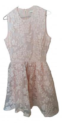Maje Pink Lace Dresses