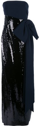 Sachin + Babi Sequin-Embellished Evening Gown