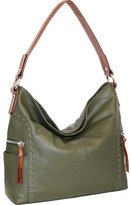 Nino Bossi Women's Kyah Leather Hobo Bag