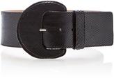 Michael Kors Gloss Python Belt