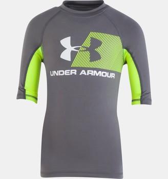 Under Armour Boys' Pre-School UA H2O Reveal T-Shirt Rashguard