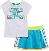 Asics Tee and Skort Set - Preschool Girls 4-6x